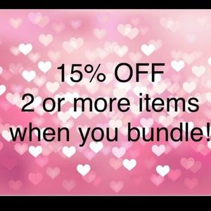 Other - If you don't know how to bundle let me know 😊